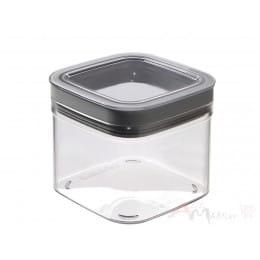 Емкость для сыпучих продуктов Curver Grand chef cube 0,8 л серый