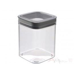 Емкость для сыпучих продуктов Curver Dry cube 1,3 л серый
