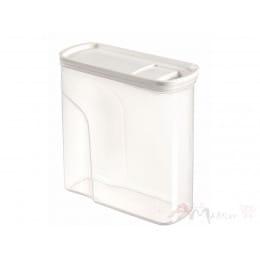 Емкость для сыпучих продуктов Curver Dry food dispenser 2 л серый