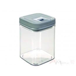 Емкость для сыпучих продуктов Curver Grand chef cube 1,3 л серый