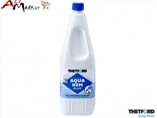 Жидкость для биотуалета Thetford Aqua Kem Blue (Аква Кем Блю) в нижний бак + инструкция