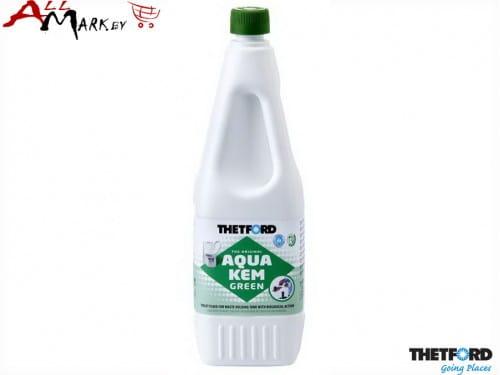 Жидкость для биотуалета Thetford Aqua Kem Green (Аква Кем Грин) в нижний бак + инструкция