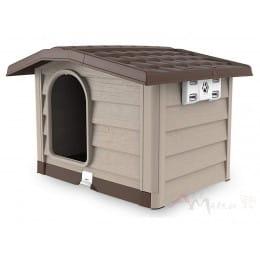 Будка для собак Bama Cuccia bungalow бежевый