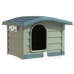 Будка для собак Bama Bungalow Large Cuccia зеленый