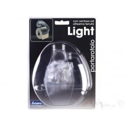 Держатель для туалетной бумаги Bama Light Portarotolo прозрачный