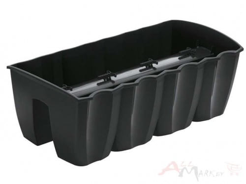 Prosperplast Crown anthracite 58 x 27.8 x 20.1 см DCRO600-S433