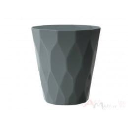 Горшок Prosperplast Rocka 140 , серый камень