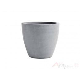 Горшок Keter Beton Round L , серый
