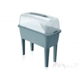 Портативный парник Prosperplast Respana Planter Set серый