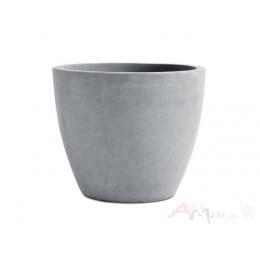 Горшок Keter Beton Round XL , серый