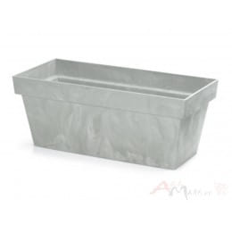 Горшок Prosperplast Cube case beton 600 , бетон