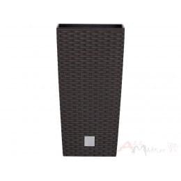 Горшок пластиковый Prosperplast Rato square umbra 40 x 40 x 75 см (коричневый)