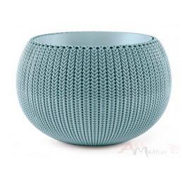 Горшок Keter Cozy M , туманный синий