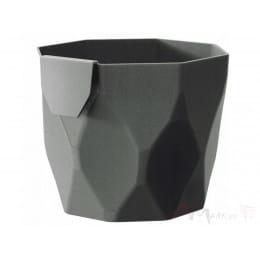 Горшок Prosperplast Rocka 125 , серый камень
