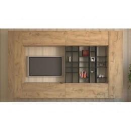 Гостиная MillWood Italian-T101 L3 дуб золотой