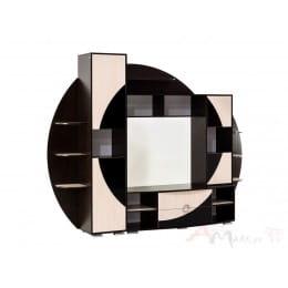 Гостиная SV-мебель Нота 17 дуб венге / дуб млечный