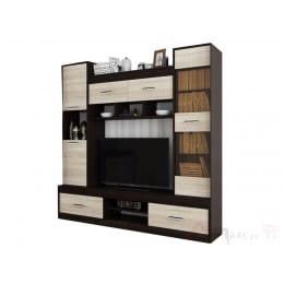 Тумба для ТВ SV-мебель Гамма 19 дуб венге / дуб сонома