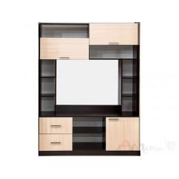 Тумба для ТВ SV-мебель Гамма 16 дуб венге / дуб млечный
