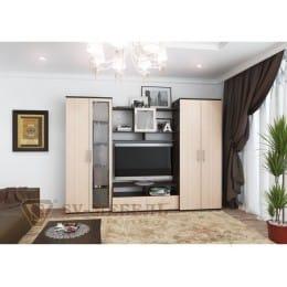 Гостиная SV-мебель Гамма 8 дуб венге / дуб млечный
