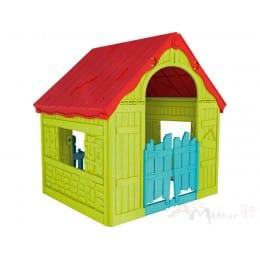 Детский игровой домик Keter Wonderfold Foldable Playhouse салатовый