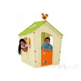 Детский игровой домик Keter Magic playhouse кремовый
