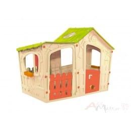 Игровой домик Keter Magic Villa House , бежевый / зеленый