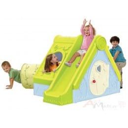 Детский игровой домик Keter Funtivity playhouse голубой