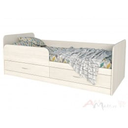 Кровать Интерлиния Анеси-5 вудлайн кремовый