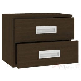 Тумба Кортекс-мебель Сенатор КМ08, венге