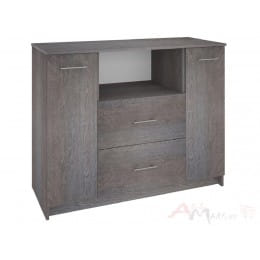 Комод Кортекс-мебель Модерн 120-2д2ш, береза