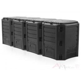 Компостер Prosperplast Module compogreen 1600л (черный)