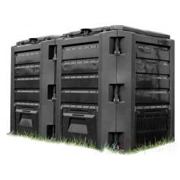Компостер Prosperplast Module compogreen 800л (черный)