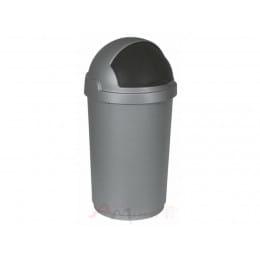 Контейнер для мусора Curver Bullet bin 50 л серый / черный
