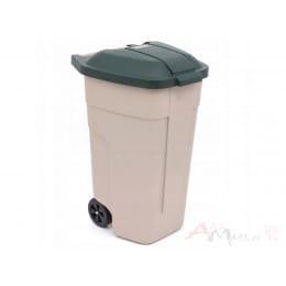Контейнер для мусора Curver 110L бежевый