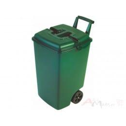Контейнер для мусора Curver Outdoor Bin 90L зеленый