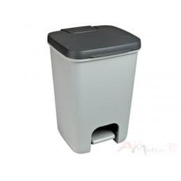 Контейнер для мусора Curver Essentials 20L серый