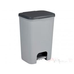 Контейнер для мусора Curver Essentials 40L серый