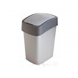 Контейнер для мусора Curver Pacific Flip Bin 25 л серый / графит