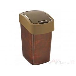 Контейнер для мусора Curver Flip Bin 25L , кожа