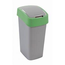 Контейнер для мусора Curver Flip Bin 50L, зеленый