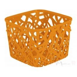 Корзинка Curver Neo square оранжевый