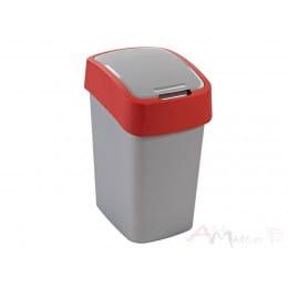 Контейнер для мусора Curver Flip Bin 10L , красный