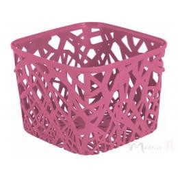 Корзинка Curver Neo square розовый