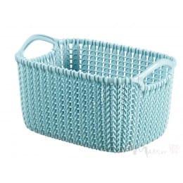 Корзинка Curver Knit XS 3л синий