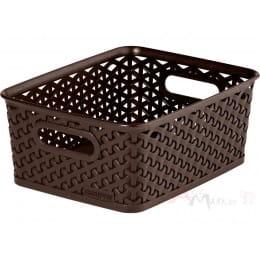 Корзинка Curver My style box S коричневый