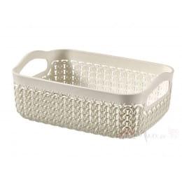 Корзинка Curver Knit basket a6 1,3 л белый