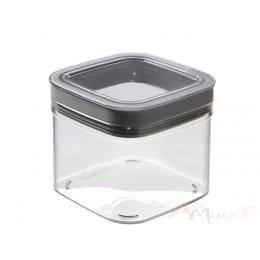 Емкость для сыпучих продуктов Curver Dry Cube 0,8L серый