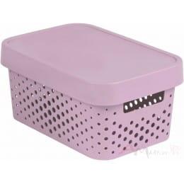Контейнер Curver Infinity 4.5l + lid dot розовый