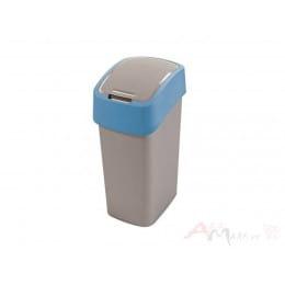 Контейнер для мусора Curver Flip Bin 10L , голубой