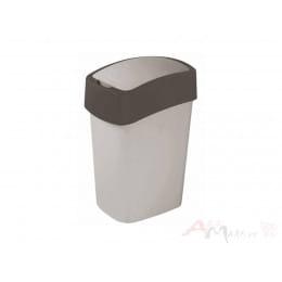 Контейнер для мусора Curver Flip Bin 10L , графит
